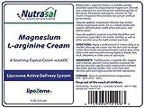 Nutrasal Liposomal Magnesium & L-Arginine Cream - 8oz