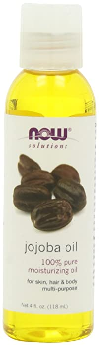 NOW Foods Jojoba Oil Pure, 4 ounce (Pack of 2)