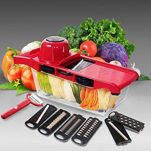 Cortador cortador cortador de verduras rallador rallador de mandolina pelador cortador multifunción zanahoria cebolla…