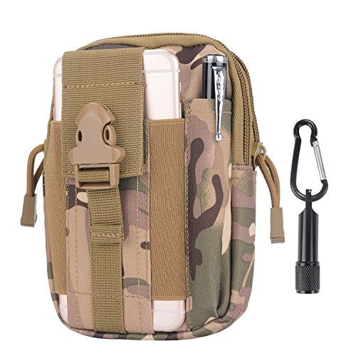 tactical-pouch-compact-water-resistant-molle-edc-utility-gadget-gear-tools-organizer-bundled-with-ke