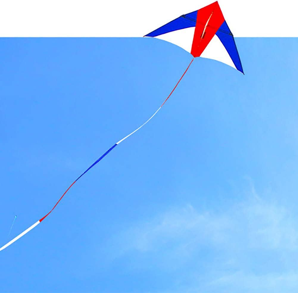 Fanthee Kite Tail Line,10//15//30m Rainbow Color Blocking Long Kite Tail Line Outdoor Sports Accessory