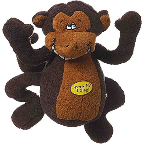Multipet Deedle Dudes Monkey Plush Toy