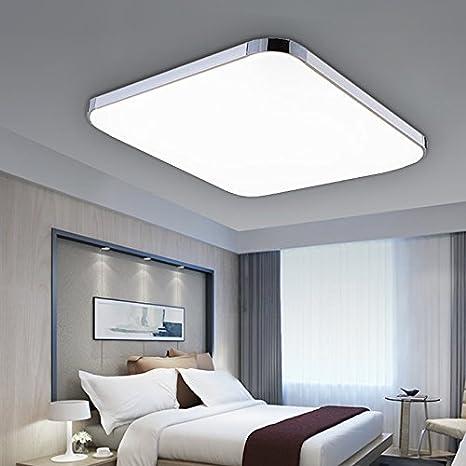 Vingo® Color Blanco Frío LED 24 W Lámpara de techo en el ...