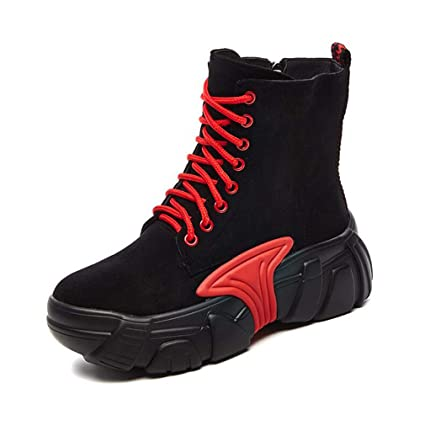 a9fc3606dab Amazon.com: Hy Women's Booties, Plus Cashmere Warm Elastic Boots ...