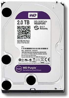 WD Purple WD20PURX- Disco duro para videovigilancia (2 TB ...