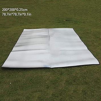 Workplace Safety Supplies Double Sided Foldable Waterproof Aluminum Foil Mat Outdoor Travel Beach Mat Sleeping Mattress For Camping Hiking Low Price Safety Clothing