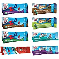 Clif Kid ZBAR, ZBAR Filled, ZBAR Protein & ZFruit - Organic Granola Bars - Variety Pack (16 Count) (Packaging May Vary)