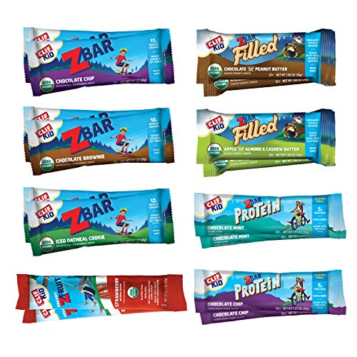 Clif Kid - Organic Energy Snacks - Variety Pack (16 Count) (Packaging May Vary)