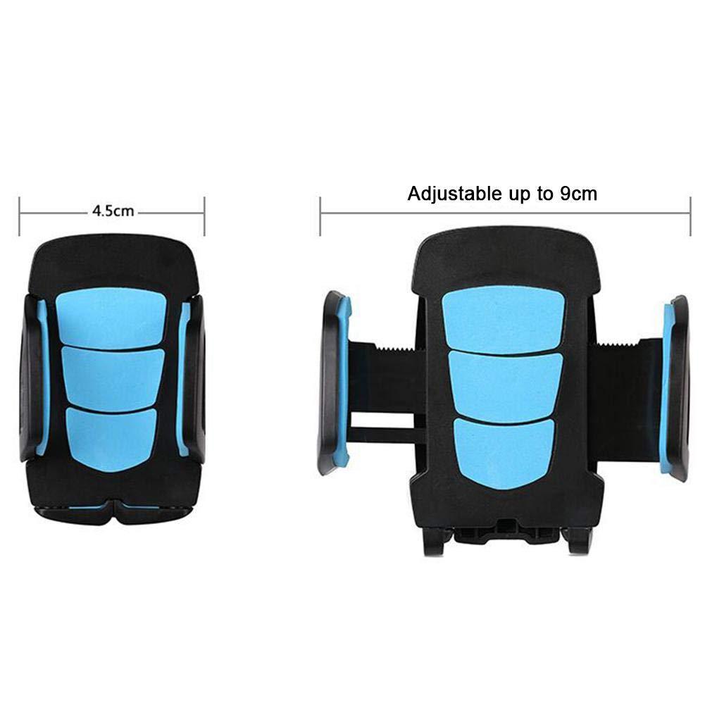 perpetualu Support T/él/éphone Auto Pare-Brise et Tableau de Bord R/églable Porte-t/él/éphone pour Smartphone