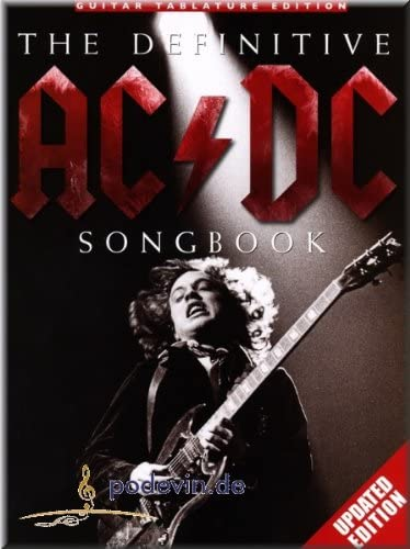 The Definitive AC/DC Songbook – upda Ted Edition Guitarra ...