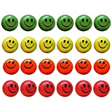 Neon Smile Face Relax Balls| Stress Balls| Pack of 12 | Dazzling Toys
