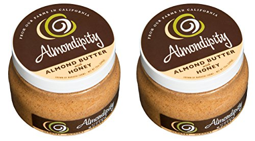 Almondipity Almond Butter with Honey 16 oz - 2 Pack by Almondipity