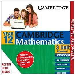 Buy Cambridge 3 Unit Mathematics Year 12 Enhanced Version