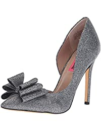 Betsey Johnson Women's Prince D'Orsay Pump