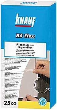 Pomo (K4 pegamento Super Flex baldosas ultrafina cama Mortero Flex ...
