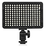 Kshioe Dimmable 176 LED Ultra Bright Video Photo Light Panel, Photo Studio High Power On-Camera Video Lights With 1/4-inch Thread Mount for Canon,Nikon,Pentax,Panasonic,Sony And Other Digital SLR Came