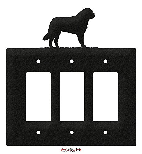 SWEN Products SAINT BERNARD Metal Wall Plate Cover