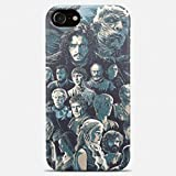 Game of thrones phone case Game of thrones iPhone case 7 plus X 8 6 6s 5 5s se Game of thrones Samsung galaxy case s9 s9 Plus note 8 s8 s7 edge s6 s5 s4 note gift art cover jon snow