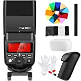 Neewer 2.4G Wireless TTL HSS Master/Slave Speedlite Flash with 12-Piece Color Filters and Cleaning Kit for Fujifilm Mirrorless Digital Cameras Like X-Pro2,X-T20,X-T10,X-A3(NW400F)