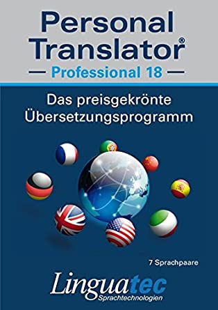 Personal Translator Professional 18: Preisgekröntes ...