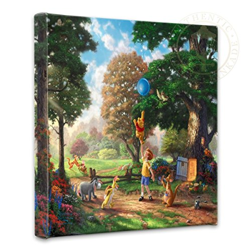 Thomas Kinkade Winnie the Pooh - lovely Thomas Kinkade wall art