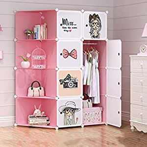 Aniuxiaoge armario de almacenaje para ni os de ni a - Armarios para habitacion nina ...