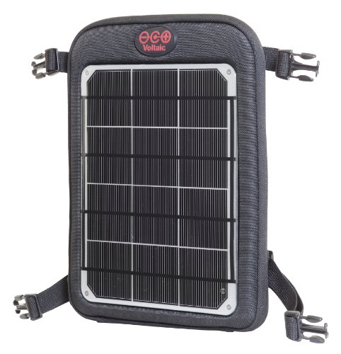 Voltaic Systems Fuse 6W Portable Solar Charger with Battery Pack - Silver