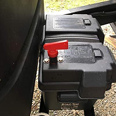 RV Battery Disconnect Switch,Negative Post Battery Cut-off Switch 2 Pack
