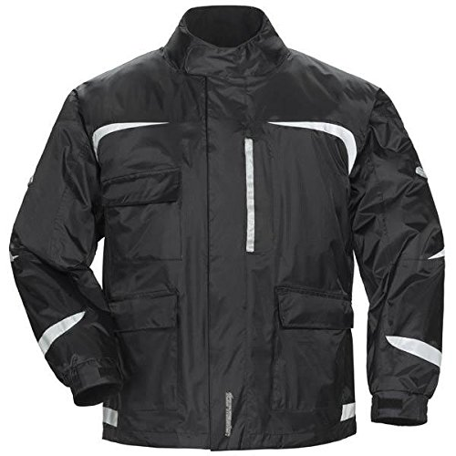 Tour Master Sentinel 2.0 Mens Rainsuit Jacket-Black-X-Large