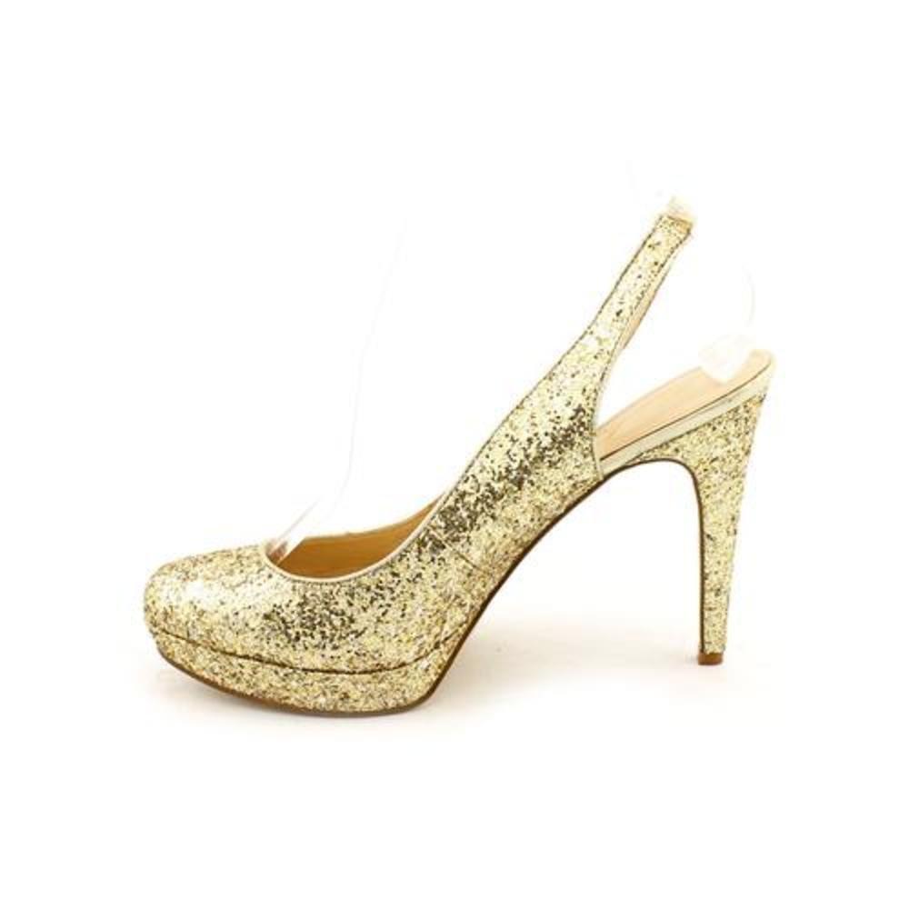 Marc Fisher Deniseo 3 Womens Gold Multi Slingbacks US7