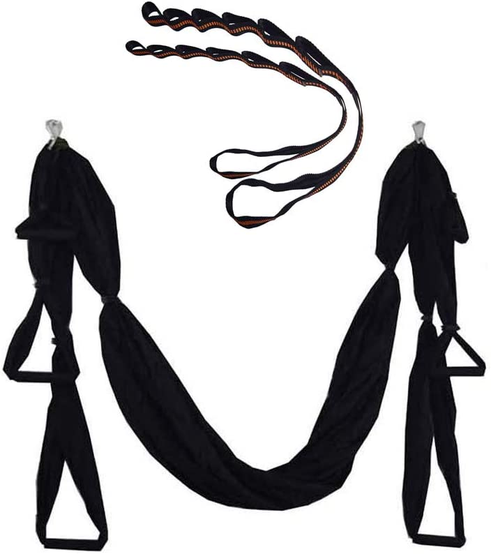 MIMI KING Aéreo Yoga Swing Kit de Yoga Hamaca Trapeze Sling Set ...