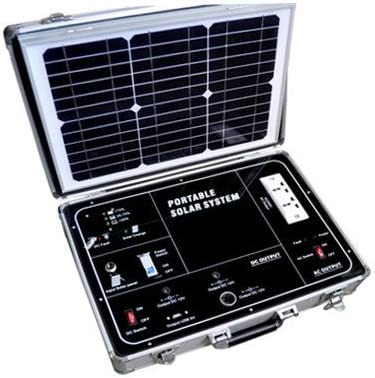 Amazon Com Gowe 500w Ac Portable Solar Power System With 110v Modify Inverter And 38w Solar Panel Garden Outdoor