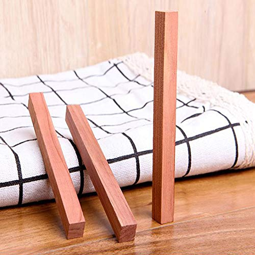 AIUSD Clearance , Wardrobe Clothes Drawer 5 Pcs Mildew Camphor Bug Repellent Natural Cedar Wood