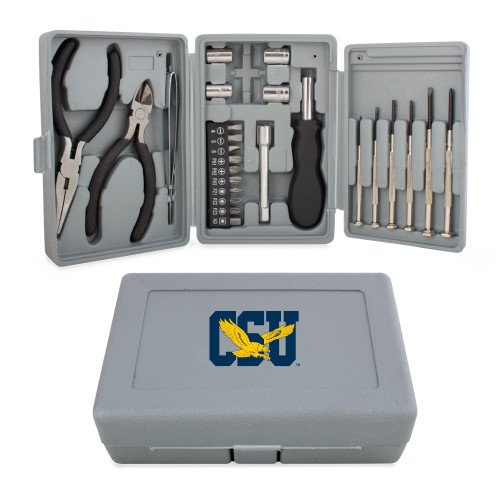CollegeFanGear Coppin Compact 26 Piece Deluxe Tool Kit 'Official Logo' by CollegeFanGear