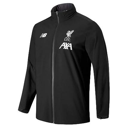 c5bfbe1a84da1 Amazon.com : New Balance Liverpool Storm Jacket - Black 2019-2020 ...