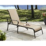 Better Homes and Gardens Warrens Sling Chaise Lounge