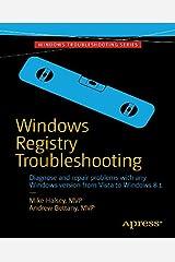 Windows Registry Troubleshooting (English Edition) eBook Kindle