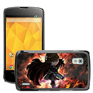 Hot Style Cell Phone PC Hard Case Cover // M00044020 3d artistic warrior fantasy // LG Nexus 4