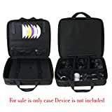 EVA Hard Protective Travel Case Carrying Bag for Sony PlayStation 4 PS4 (2016 Slim Model) Game Console + Wireless Move Motion Controller By Hermitshell