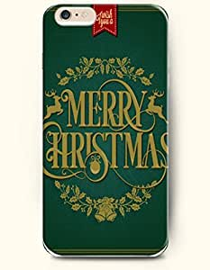 OOFIT New Apple iPhone 6 ( 4.7 Inches) Hard Case Cover - Wreath and Bells - Merry Christmas by icecream design
