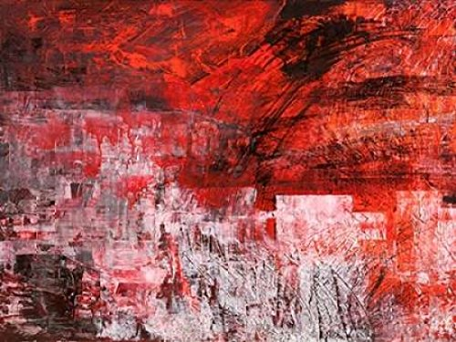 Rosso tramonto Poster Print by Italo Corrado (11 x (Corrado Distributor)