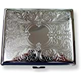 Etched Case for Regular Size and 100's Cigarette, 100 MM