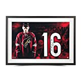 """MAX DOMI Autographed White Jersey Number """"Spotlight"""" 28 x 18 Photo UDA"""