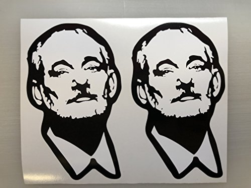 2 Bill Murray Exterior Window Decal by SBDdecals.com