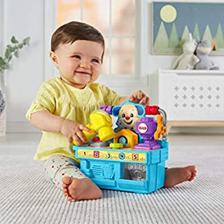 Fisher-Price Busy Learning Tool Bench,Multicolor