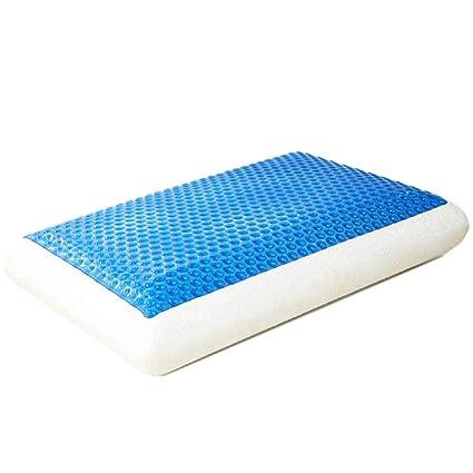WMWN - Terapia de Espuma viscoelástica para disipar el Calor, Gel frío, extraíble, Lavable, hipoalergénica, para prevenir ...