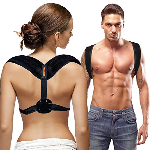 Back Posture Corrector for Women & Men  Effective and Comfortable Posture Brace for Slouching & Hunching - Discreet Design  Posture Support For Medical Problems & Injury Rehab