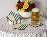 SouvNear 811778027607 Square Coasters in Set of 4