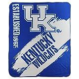 NCAA Collegiate School Logo Fleece Blanket (Kentucky Wildcats)
