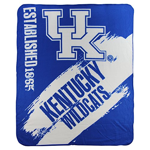 The Northwest Company NCAA Collegiate School Logo Fleece Blanket (Kentucky Wildcats)